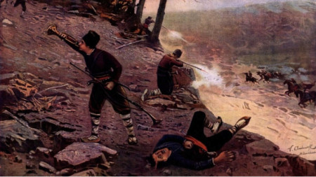 """""""Los revolucionarios búlgaros"""", de V. Antonov"""
