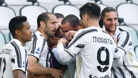 Футболистите на Ювентус спечелиха дербито с Интер