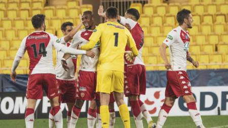 Дузпи пратиха Монако на 1/4-финал за Купата на Франция