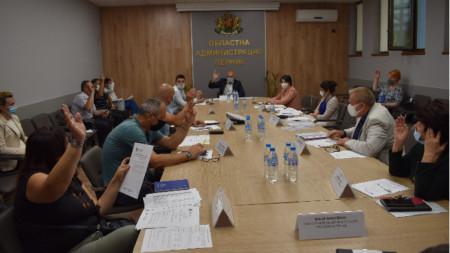 Областна комисия по безопасност на движението – Перник