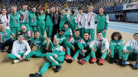 Skuadra bullagre në Ballkaniadën e Stambollit