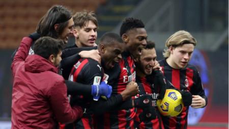 Милан безгрешен на дузпи за Купата на Италия