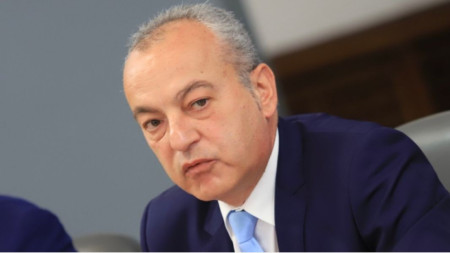 Bulgaria's caretaker Minister of Labor and Social Policy Galab Donev