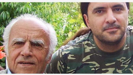 Баща и син – Илия и Димитър Аргирови