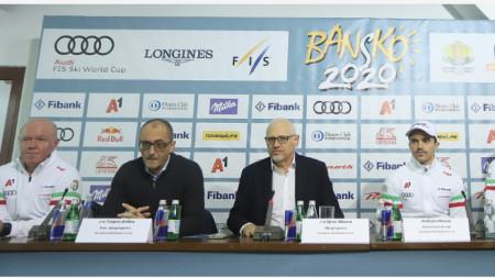 Световната купа в Банско ще е медийното събитие на 2020 г. смята Цеко Минев.