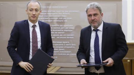 Красимир Вълчев и Боил Банов