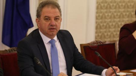 Борис Ячев, зам.-председателт на НФСБ и шеф на парламентарната антикорупционна комисия