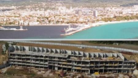 Варненското езеро и строежът на Алепу