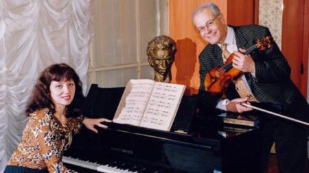 Зорница Радионова и Йосиф Радионов