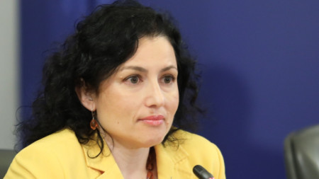 Bulgaria's Minister of Agriculture and Food Desislava Taneva