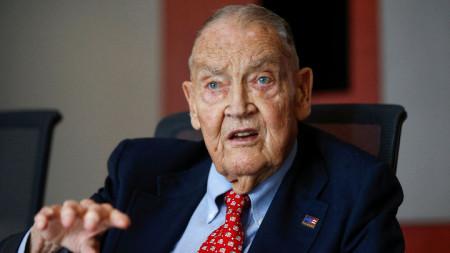 Джон Богъл, основател на взаимния фонд Vanguard Goup