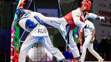 Владимир Далаклиев на турнира за Големия шлем
