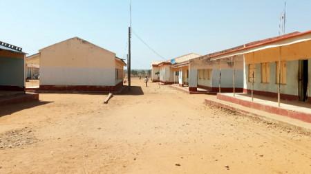 Училището, което е станало обект на атаката.