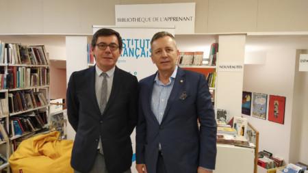 Клод Шасен, професор Григор Горчев