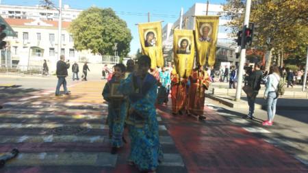 Молебен и литийно шествие на бургаското духовенство в подкрепа и защита на българското семейство.