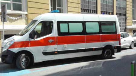 Дарената линейка от Община Малко Търново