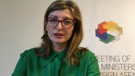 Außenministerin Ekaterina Sachariewa
