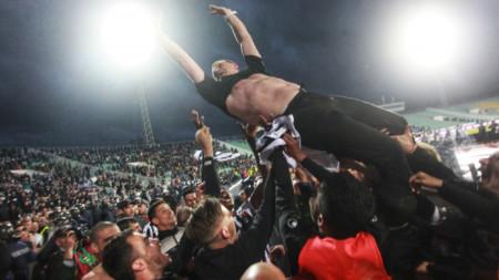 Бруно Акпарович отново иска Купата, гарнирана с медали