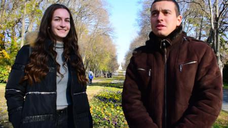 Катрин Терзиева и Александър Коларов