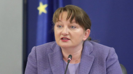 Minister of Labour and Social Policy Denitsa Sacheva