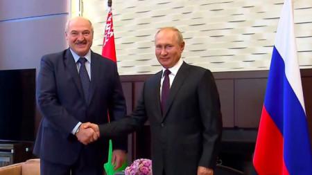 Среща между Лукашенко и Путин в Сочи
