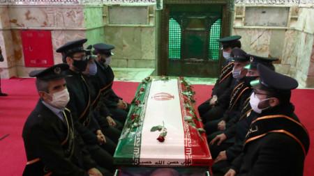Погребението на Мохсен Фахризаде в Техеран - 30 ноември 2020