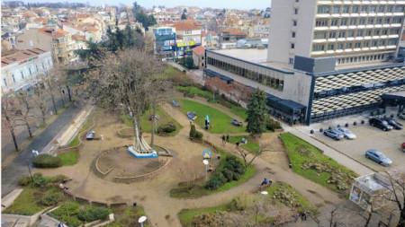 Снимка: Камера на Община Бургас
