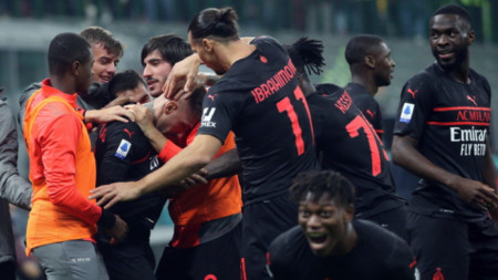 Милан победи с 3:2 Верона