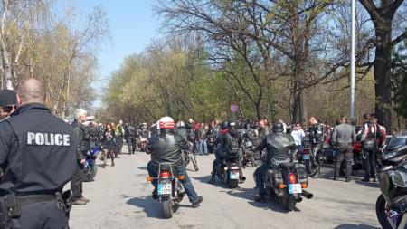 Рокерско шествие в Пловдив