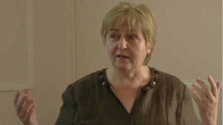 Писателката Слава Славчева