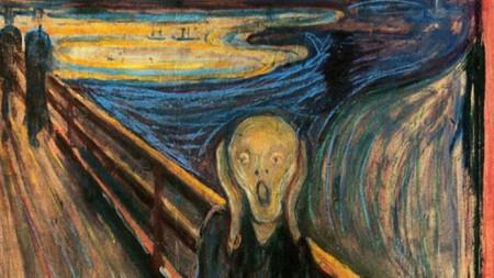 """""""Викът"""" – Едвард Мунк  (1893)"""
