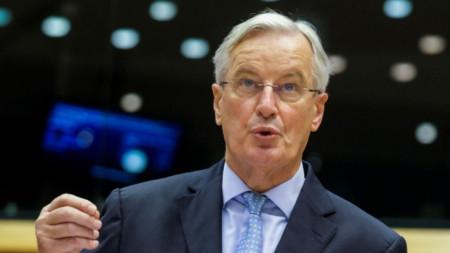 Изказване на Мишел Барние пред Европейския парламент за хода на Брекзит преговорите