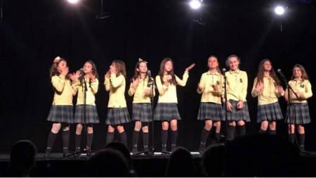 """Участие на вокалната група """"Радиодеца"""" в БНР на Фестивала на изкуствата и науката """"Сен Дени"""" през 2017 година"""