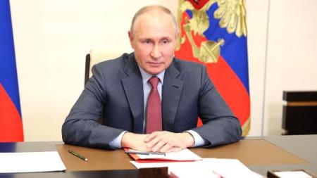 Президентът на Русия Владимир Путин