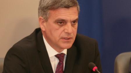 Служебният премиер на България -Стефан Янев
