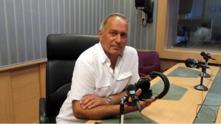 "Симеон Панайотов в студиото на програма ""Христо Ботев"""