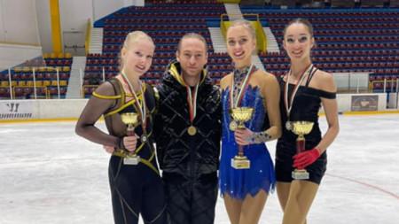 Мария Левушкина, Лари Луполоувър, Алексендра Фейгин, Кристина Григорова
