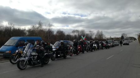 Протестното шествие в Добрич