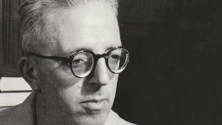 Писателят Димитър Димов