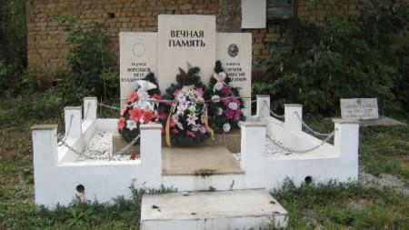 паметник в Киряево