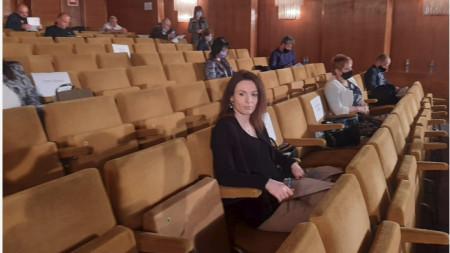 Детелина Куртева от ГЕРБ е избрана за заместник-председател на Общинския съвет в Шумен.