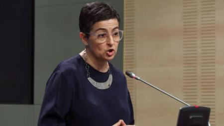 Аранча Гонсалес Лая, испански външен министър