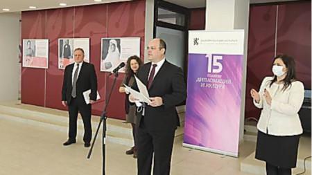 Н. Пр. Мануел Корчек, посланик на Словакия в България
