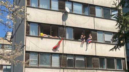 Пролет в студентските общежития