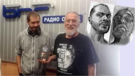 Благой Д. Иванов и Петър Станимиров гледат уплашено само когато четат страхотии, иначе като тандем усмивката е естествено състояние