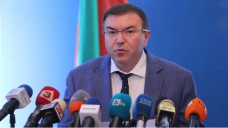 Министр здравоохранения проф. Костадин Ангелов
