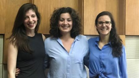 """Катрин, София и Каролин във """"Време и половина"""" (отляво надясно)"""