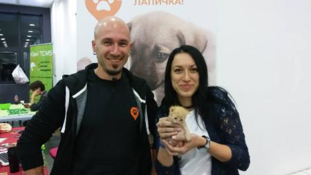 Милен Маринов и Татяна Маринова - екипът на Help A Paw