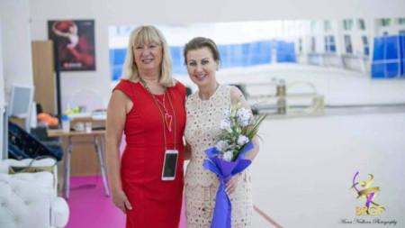 Татяна Стоянова (вляво) и Илиана Раева
