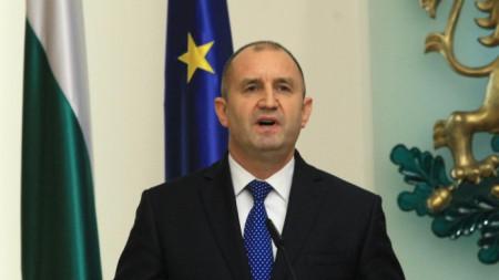 Президентът Румен Радев и вицепрезидентът Илияна Йотова дадоха пресконференция по повод третата годишнина от встъпването си в длъжност.